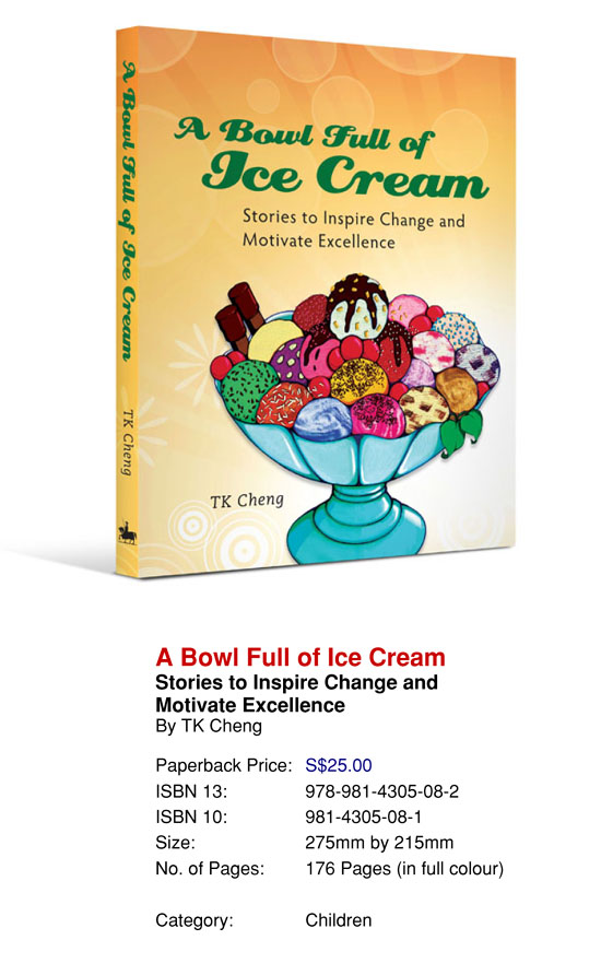 A Bowl Full Of Ice Cream